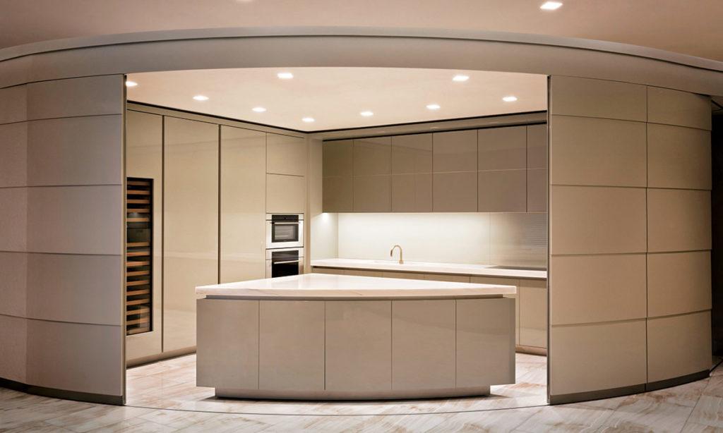 Armani Casa Kitchen by Cesar Pelli